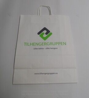 Logoga paberkott - Tilhengergruppen