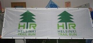 Reklaambänner - Helsinki Trail Run