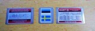 Metallist tootesildid - Kart Group