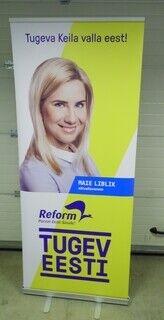 Roll up bänner  Reformierakond