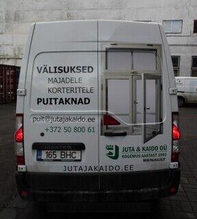 Reklaamkleebised kaubikule