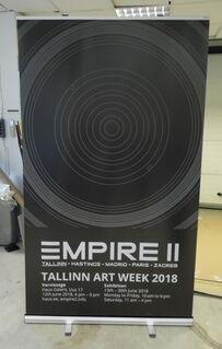 Roll up stend - Tallinn Art Week