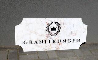 Logosilt - Granitkungen