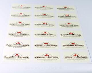 Logokleebised - Raigastvere Marjatalu