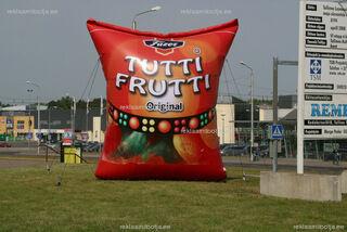 Tutti Frutti täispuhutav reklaam
