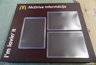 McDrive Informacija stend