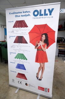 Roll-UP Plly Terasprofiilid