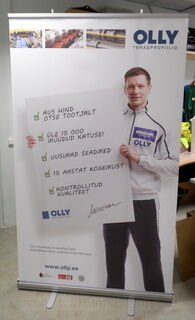 1000x2000 mm Roll-Up Olly