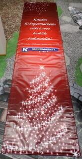 K Supermarket PVC bänner