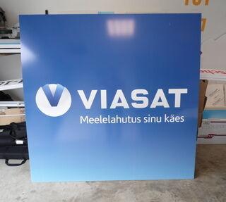 Valguskastireklaam Viasat
