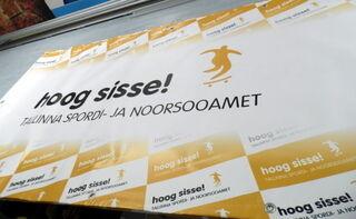 PVC bänner Tallinna Spordi- ja Noorsooamet
