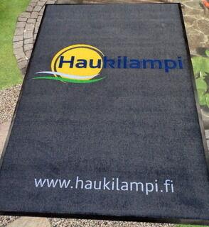 Standard logomatto Haukilampi 1200 x 1800 mm