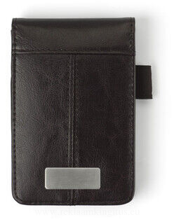 Bonded leather wallet.