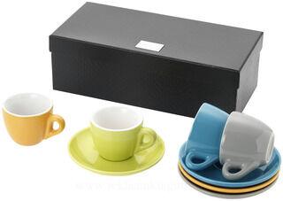 4 piece Espresso set