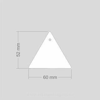 Helkur kolmnurk 60 x 52 mm